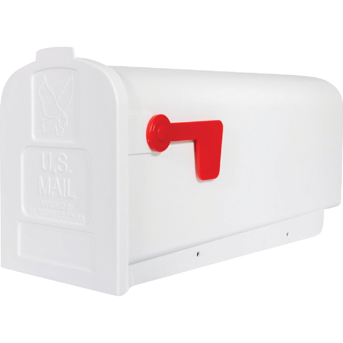 #1 WHITE POLY MAILBOX - T-R4503WT by Flambeau Products Co