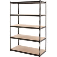 Edsal 24X48X72 STEEL 5 SHELF SR200
