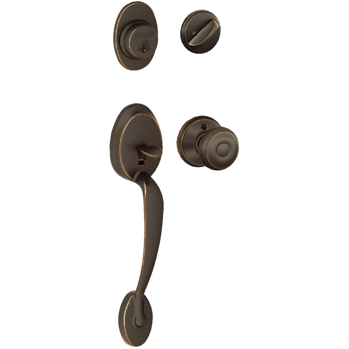 ABRZ PLYMOUTH HANDLESET - F60VPLYXGEO716 by Schlage Lock Co