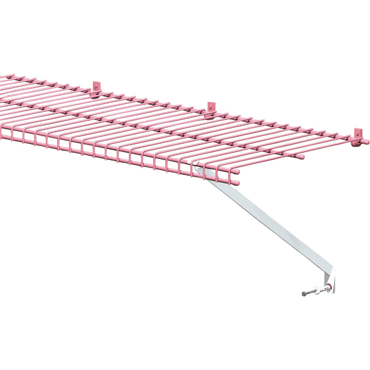 ClosetMaid 12 In. White Wire Shelving Support Bracket 2-Pack
