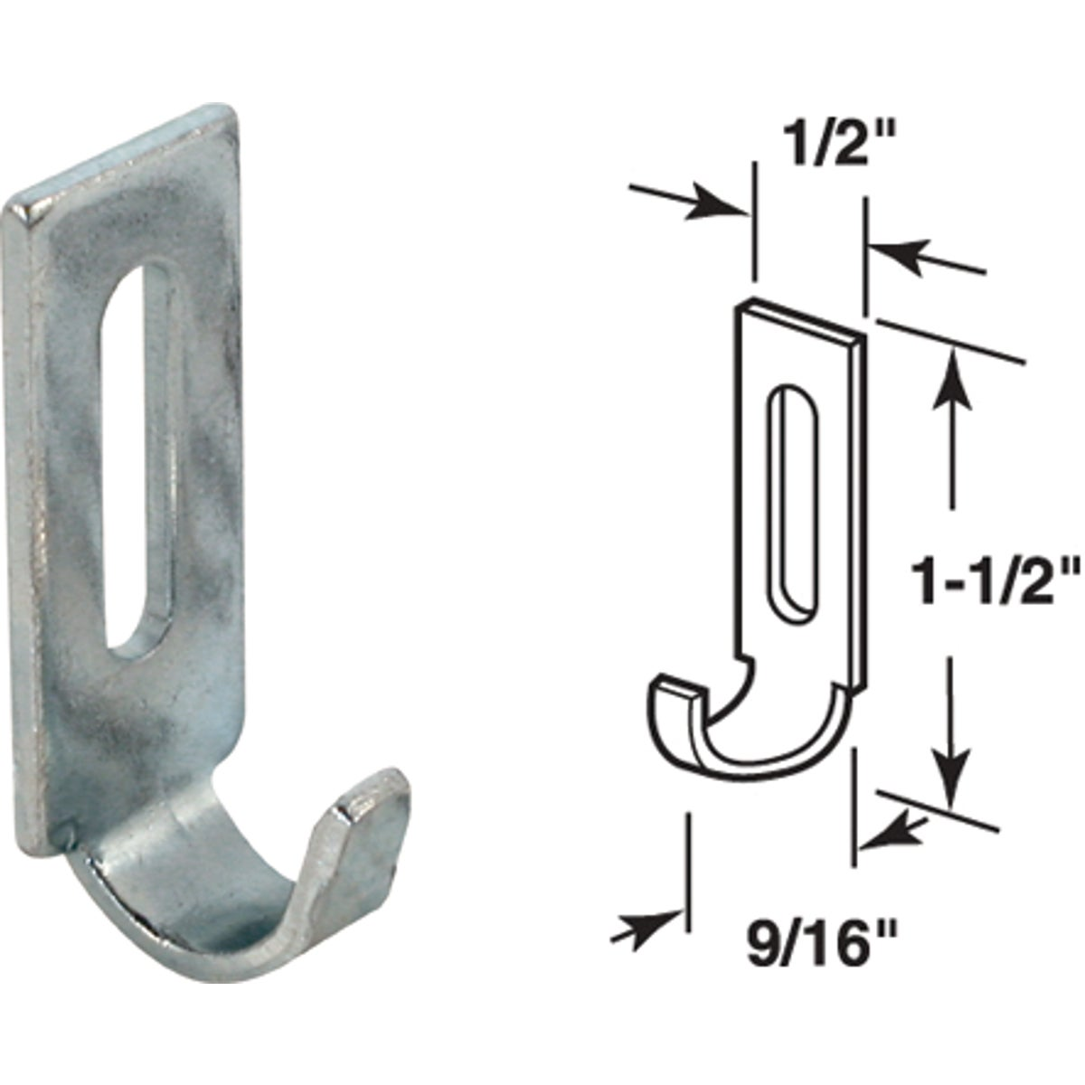 LATCH STRIKE - A-163 by Prime Line Products