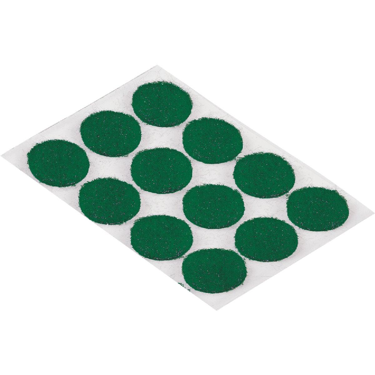 "3/8"" GREEN FELT PAD"