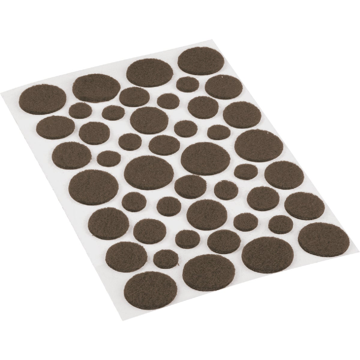 46PCS ASST GR FELT PADS - 227686 by Shepherd Hardware