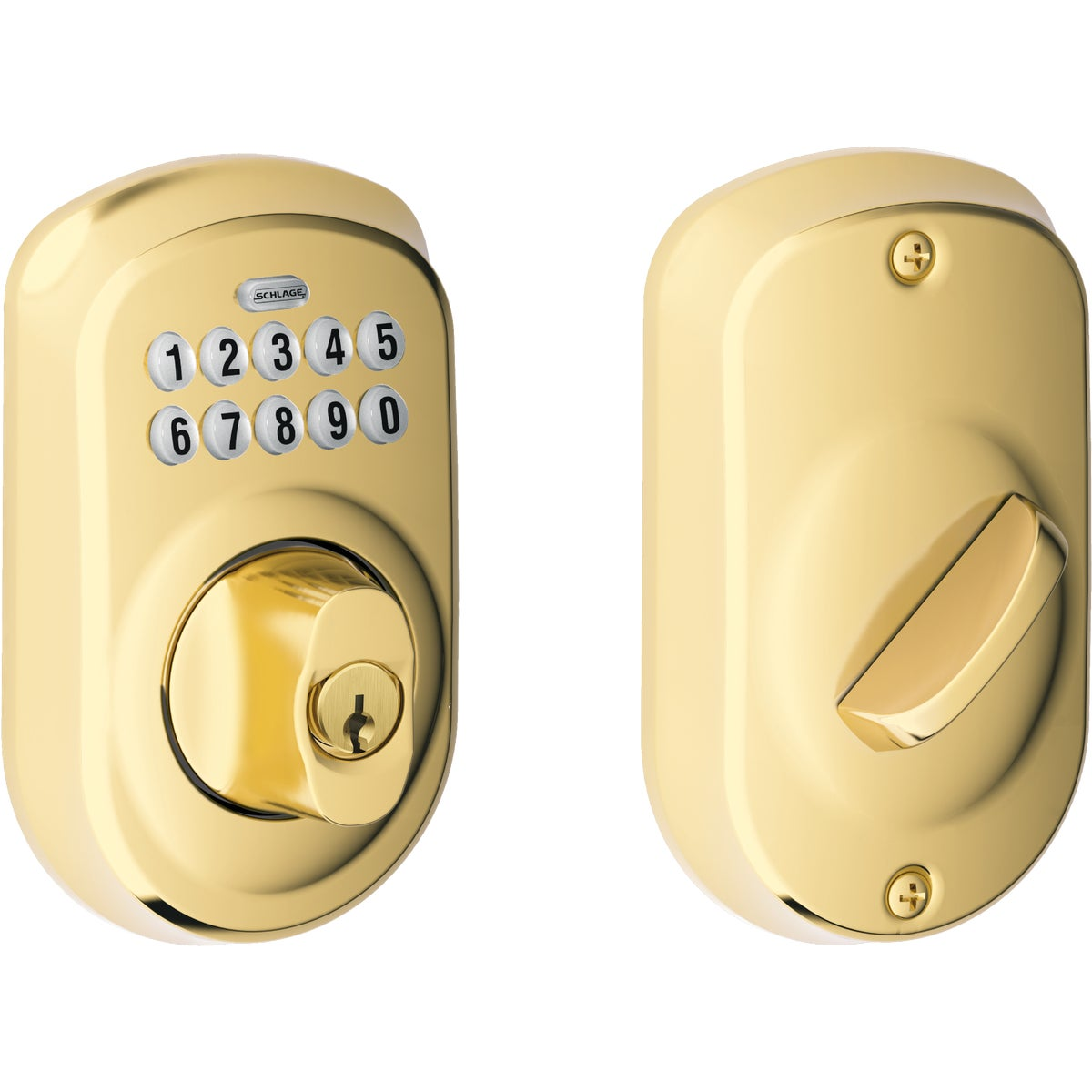 ELECTRONIC LOCK DEADBOLT - BE365VPLY505 by Schlage Lock Co