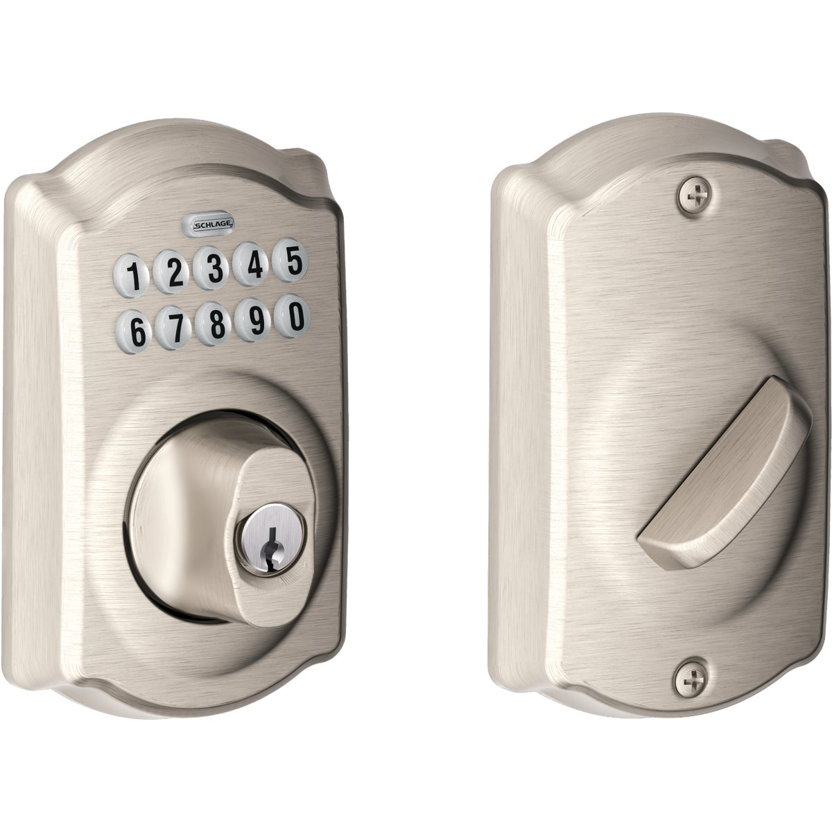 ELECTRONIC LOCK DEADBOLT - BE365VCAM619 by Schlage Lock Co
