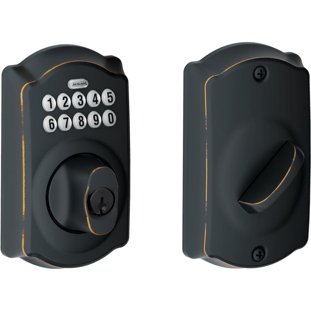 ELECTRONIC LOCK DEADBOLT - BE365VCAM716 by Schlage Lock Co