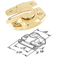 Sliding Window Sash Lock