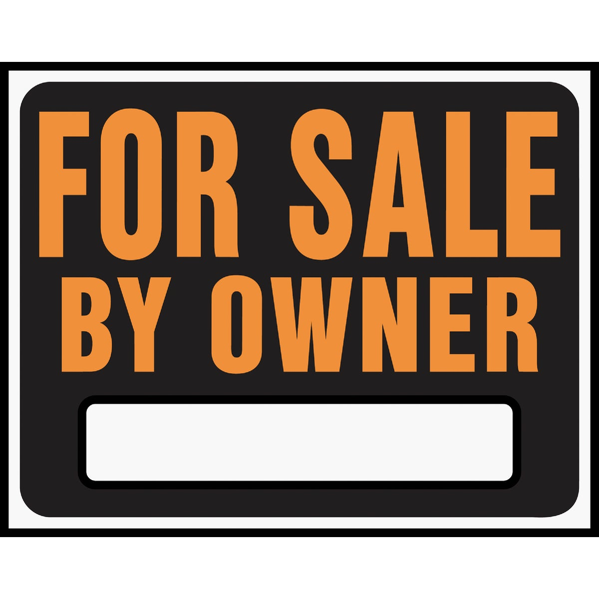 15X19 FOR SALE/OWNR SIGN