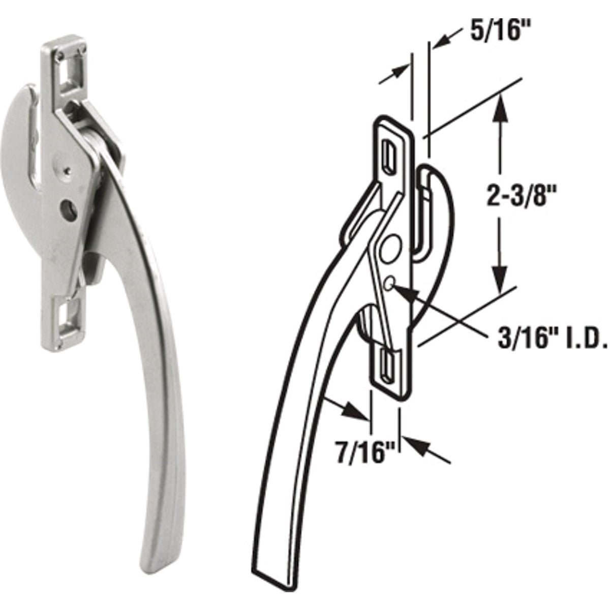 Slide-Co Casement Window Locking Handle