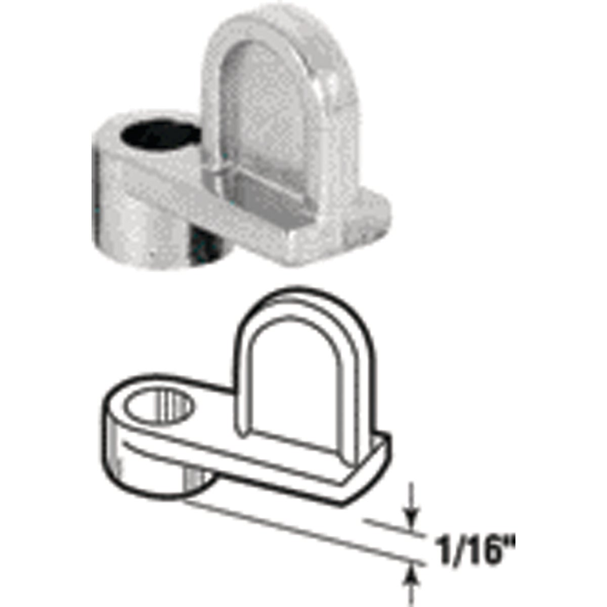 """1/16""""WINDOW SCREEN CLIPS - 18107-1 by Prime Line Products"""