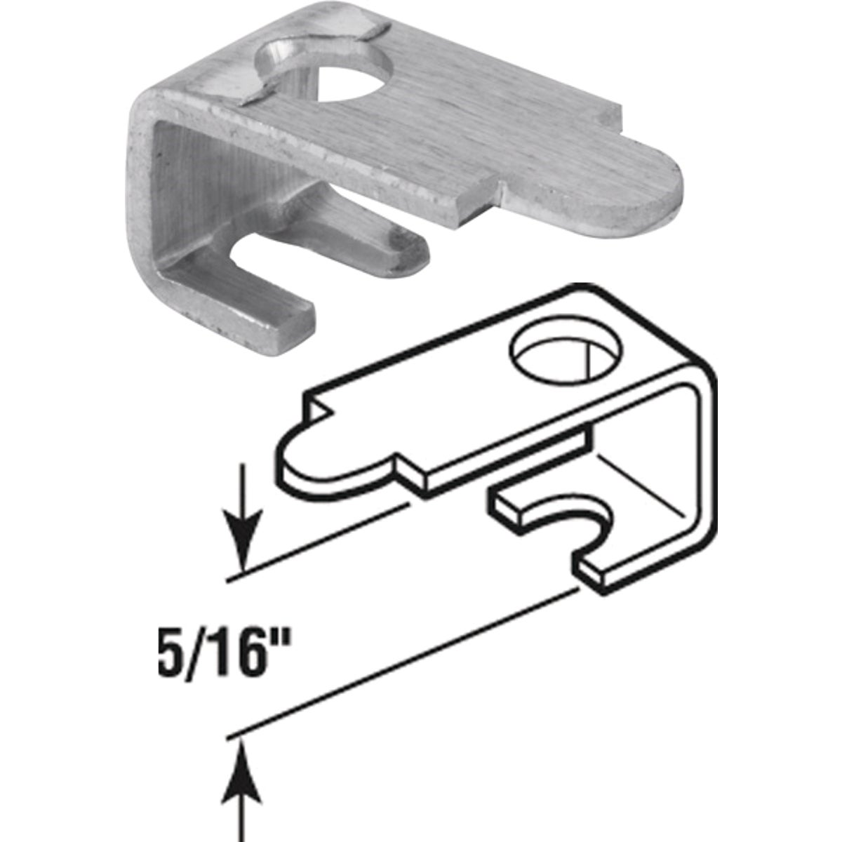 "5/16""WINDOW SCREEN CLIPS - 182933 by Prime Line Products"