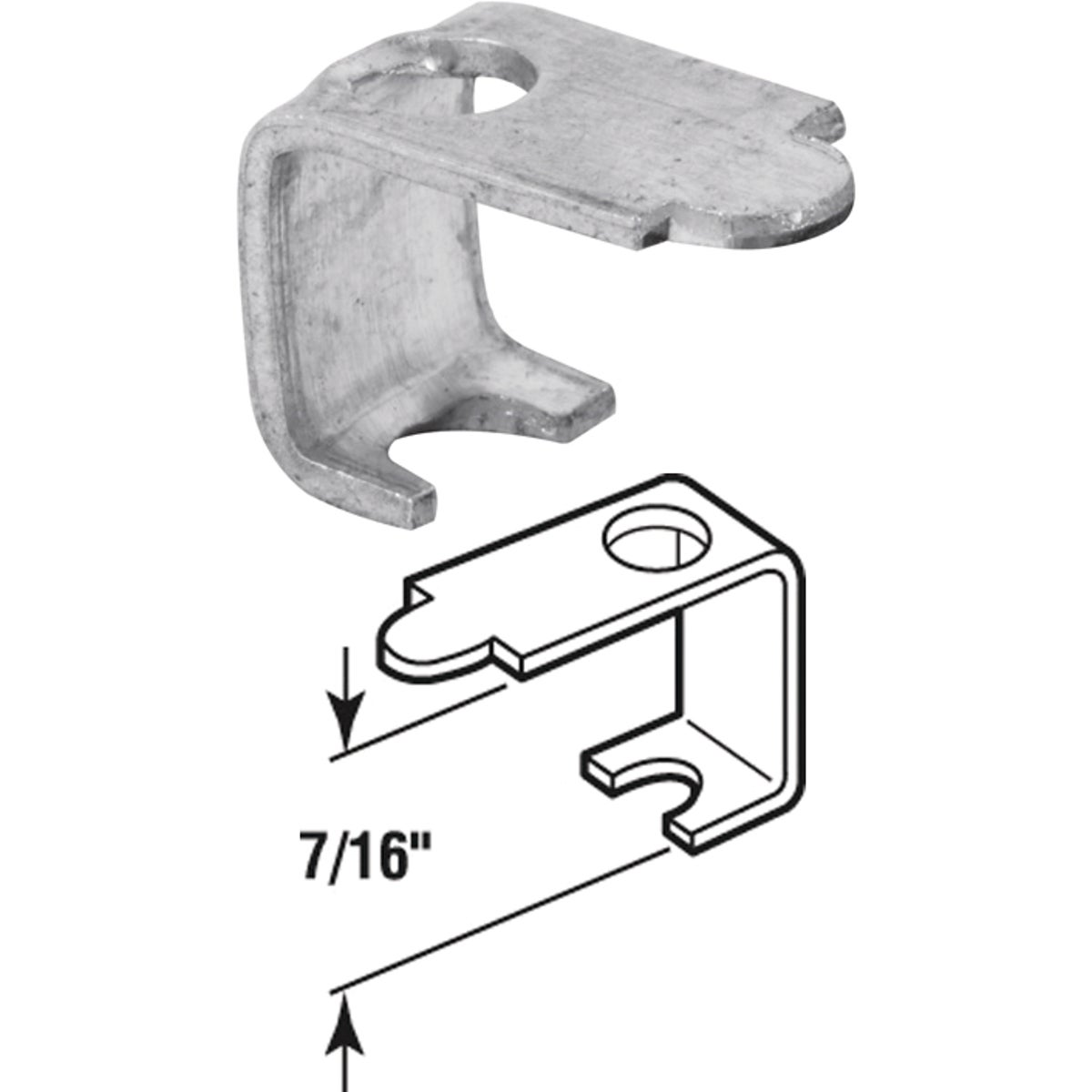 WINDOW CASEMENT CLIPS - 182935 by Prime Line Products