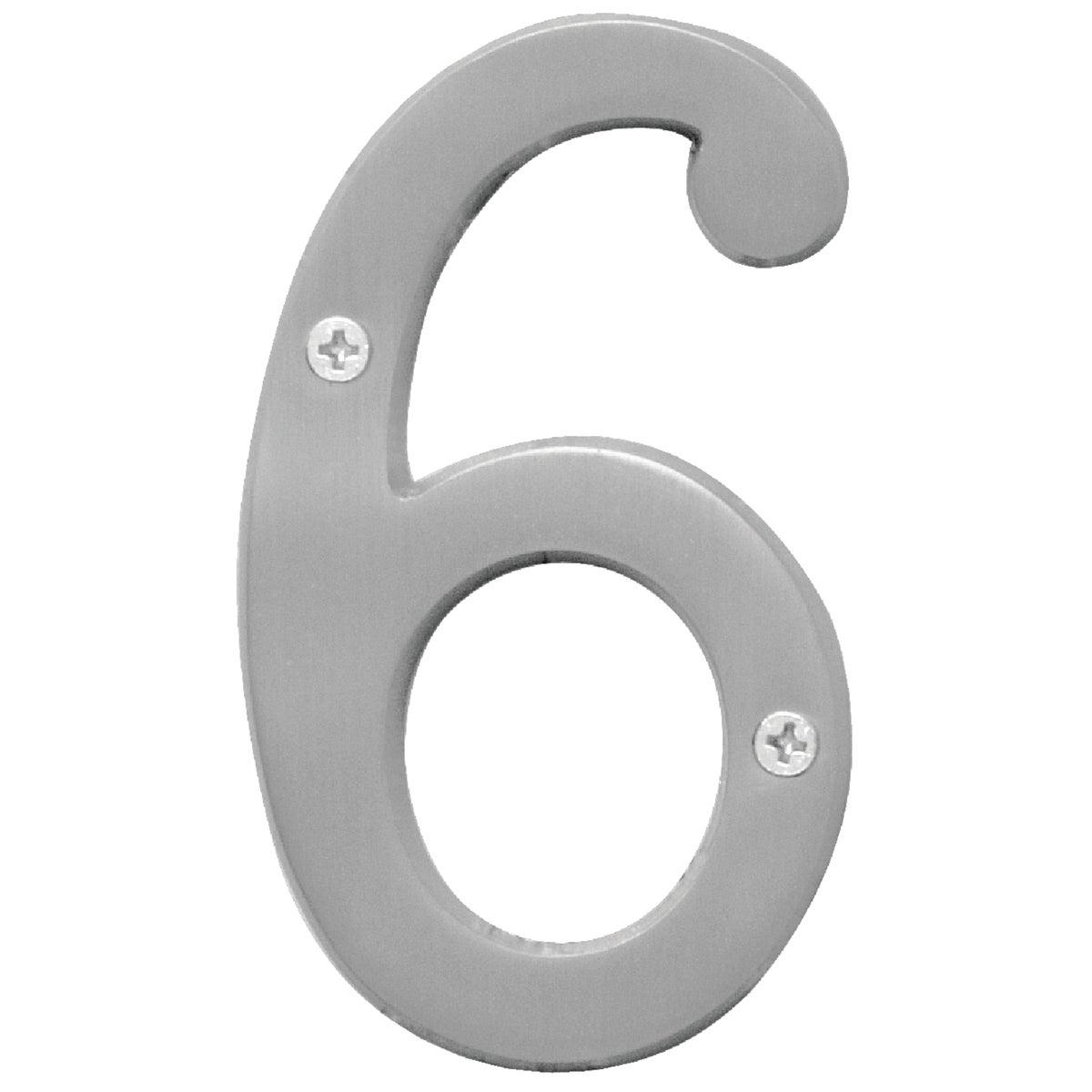 "4"" SN NUMBER 6"