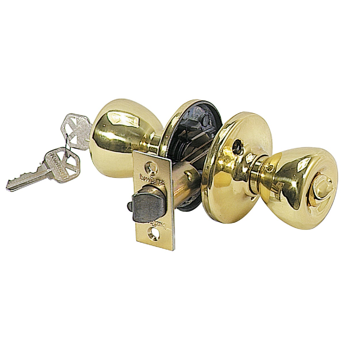 PB BX TYLO ENTRY LOCK - 400T 3 6AL RCS K3 by Kwikset