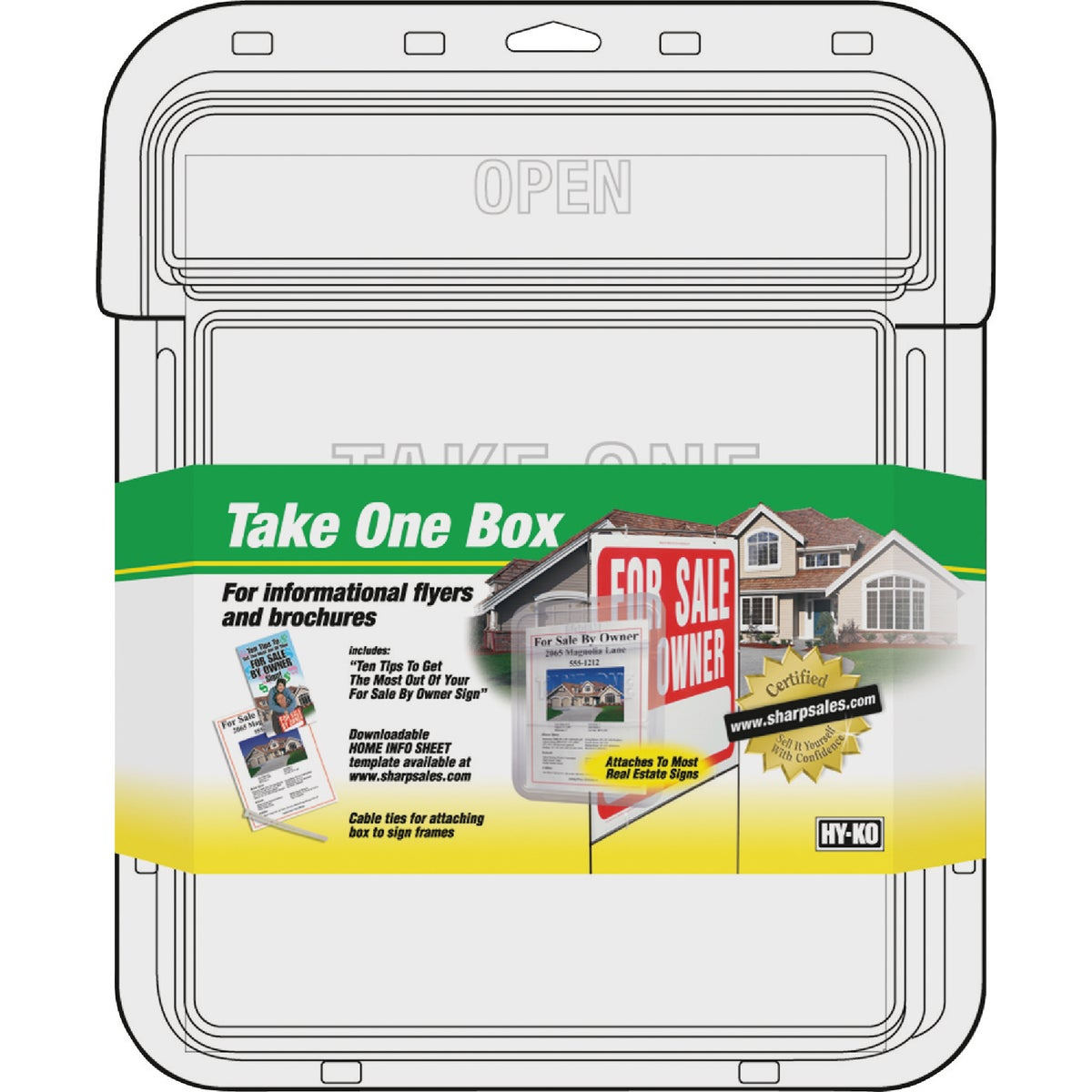 TAKE ONE BOX - 22131 by Hy Ko Prods Co
