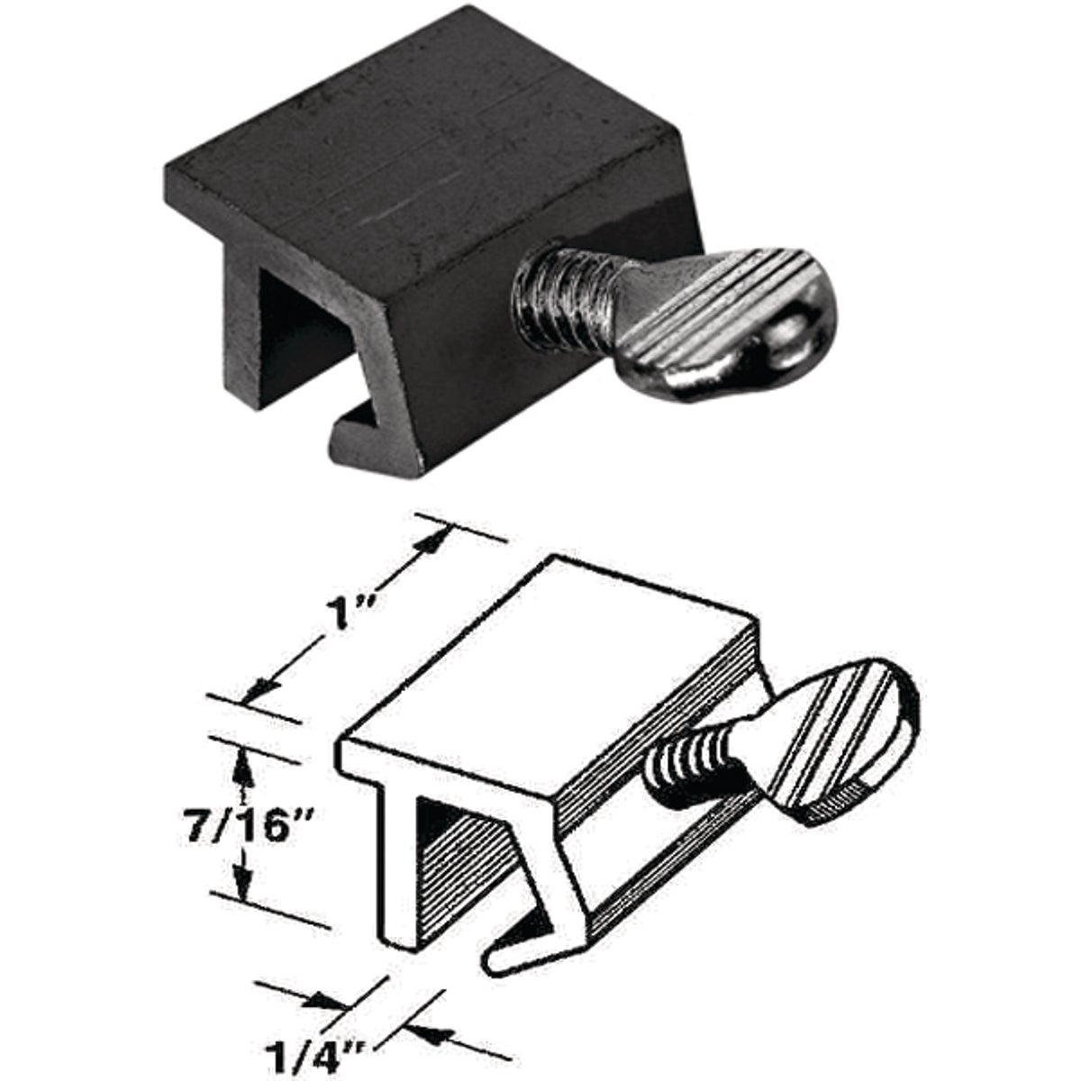 SLIDING WINDOW LOCK - S-4076 by Prime Line Products
