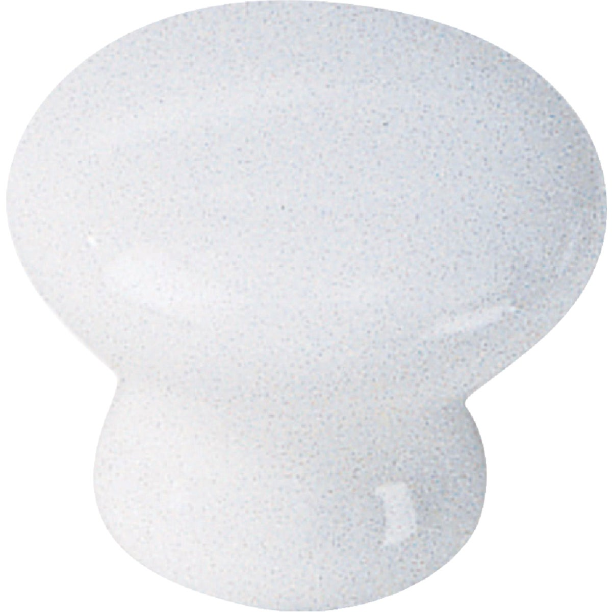1-3/8 WHT CERAMIC KNOB - 01642 by Laurey Co