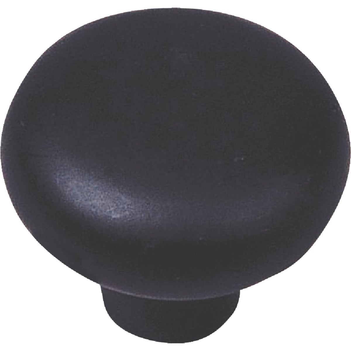 1-3/8 BLK CERAMIC KNOB - 03915 by Laurey Co