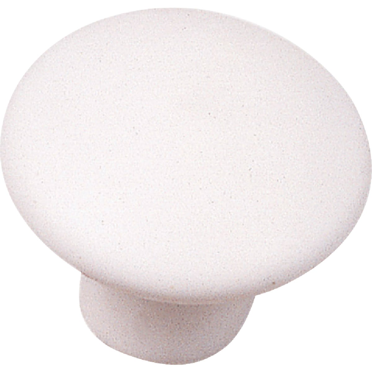 1-3/8 WHT CERAMIC KNOB - 03942 by Laurey Co
