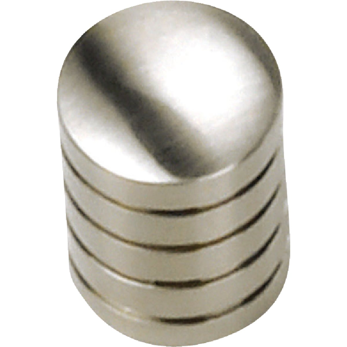 "5/8"" BRSH STN NKL KNOB - 26259 by Laurey Co"
