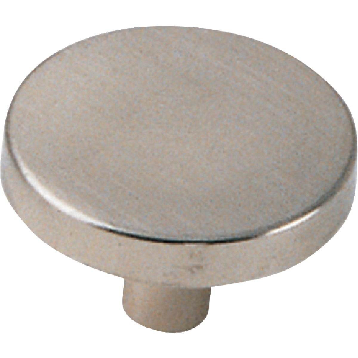 "1-1/4"" SATIN CHROME KNOB - 34539 by Laurey Co"