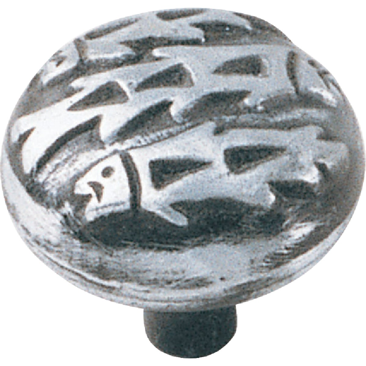 "1-1/2"" SILVERADO KNOB - 53660 by Laurey Co"