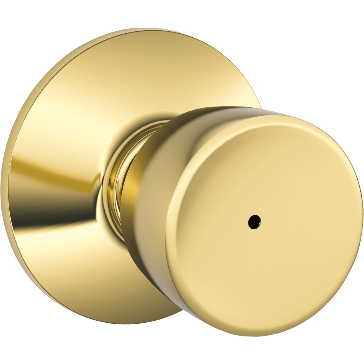 PB BELL PRIVACY KNOB BX - F40BEL605 by Schlage Lock Co