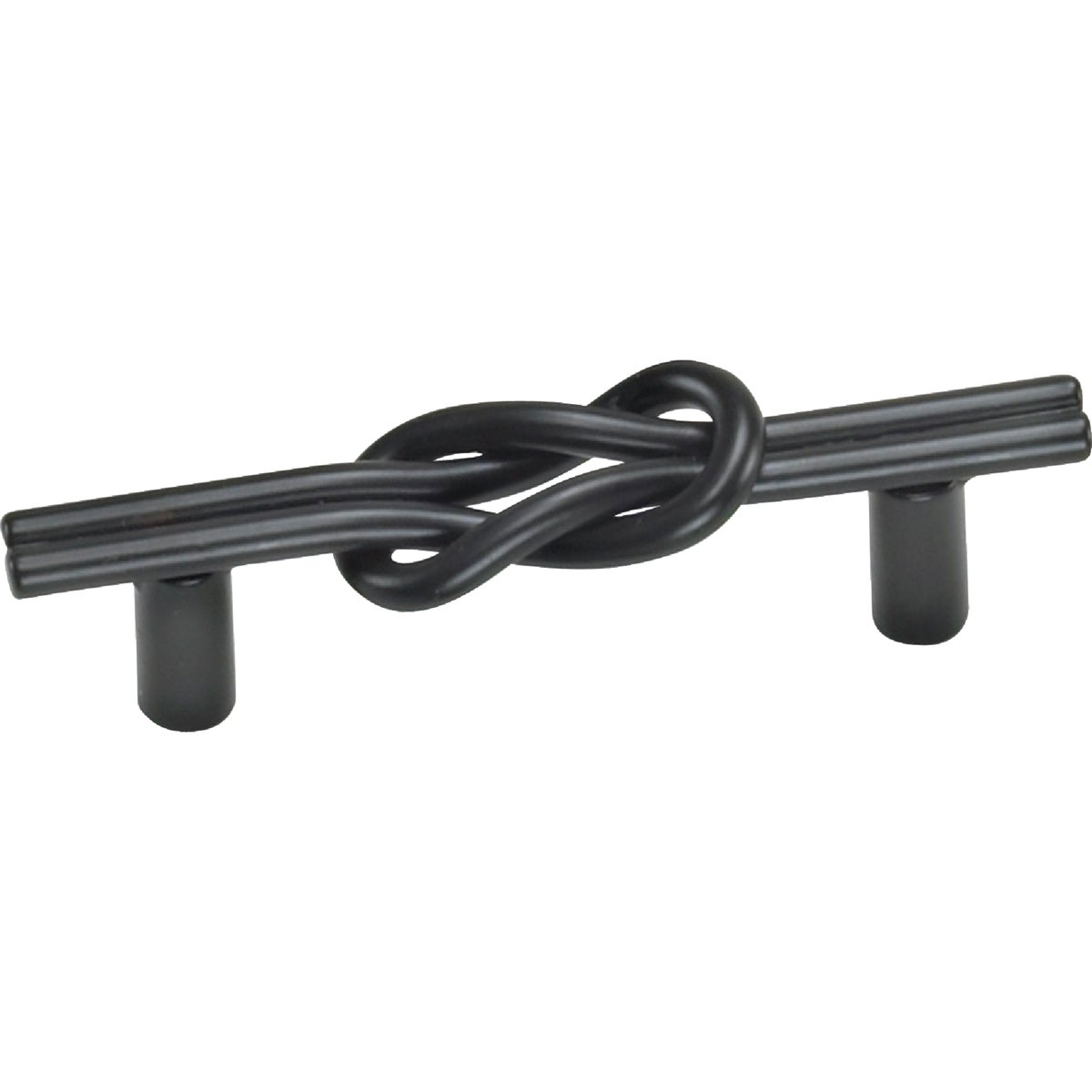 "3"" BLACK MATTE PULL - 57520 by Laurey Co"