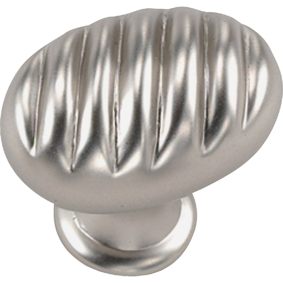"1-3/8"" SATIN CHROME KNOB - 59439 by Laurey Co"