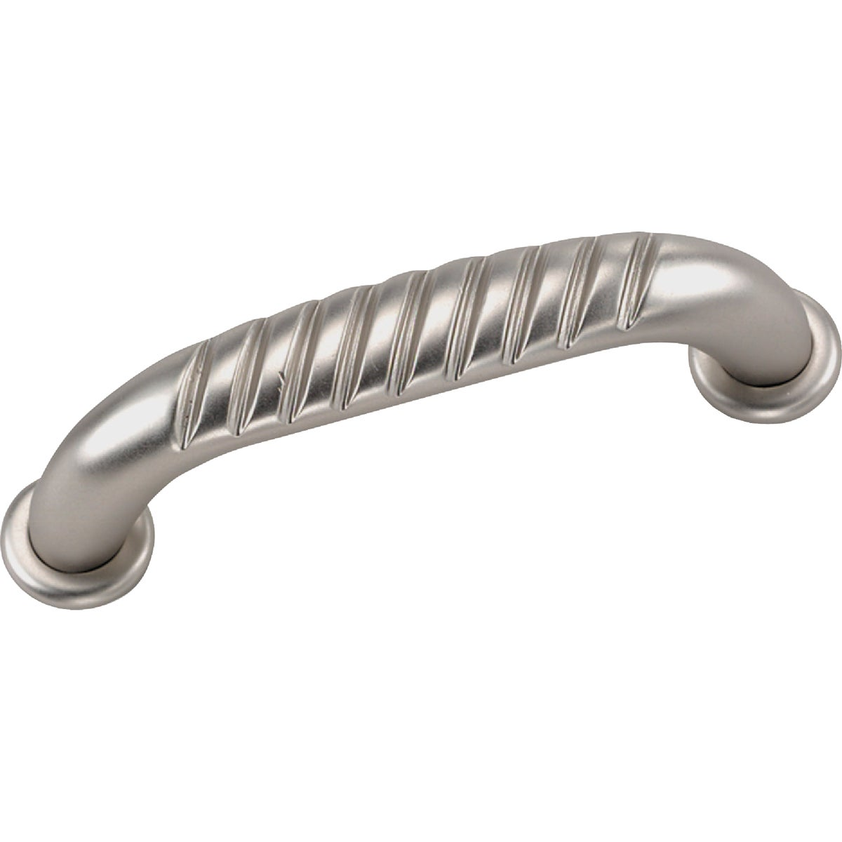 """3"""" SATIN CHROME PULL - 59539 by Laurey Co"""