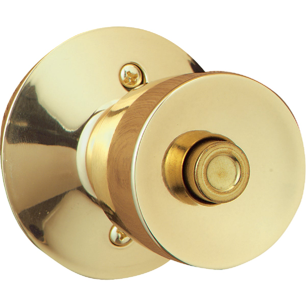 PB BELL PRIVACY KNOB - F40VBEL605 by Schlage Lock Co