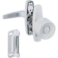 National Mfg. WHITE KNOB LATCH N212993