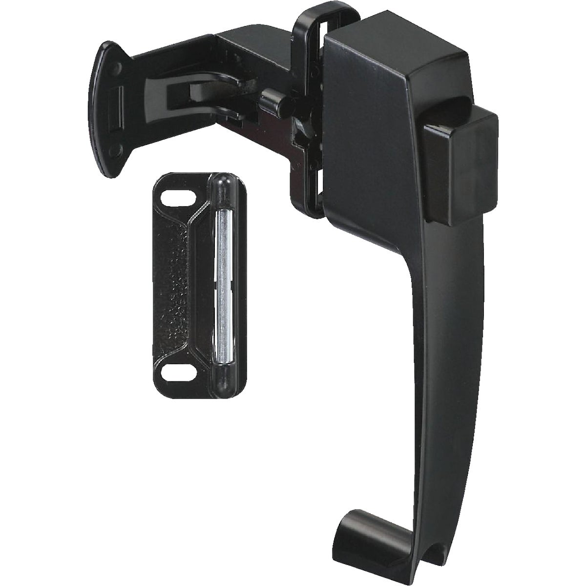 BLACK PUSHBUTTON LATCH - N178350 by National Mfg Co