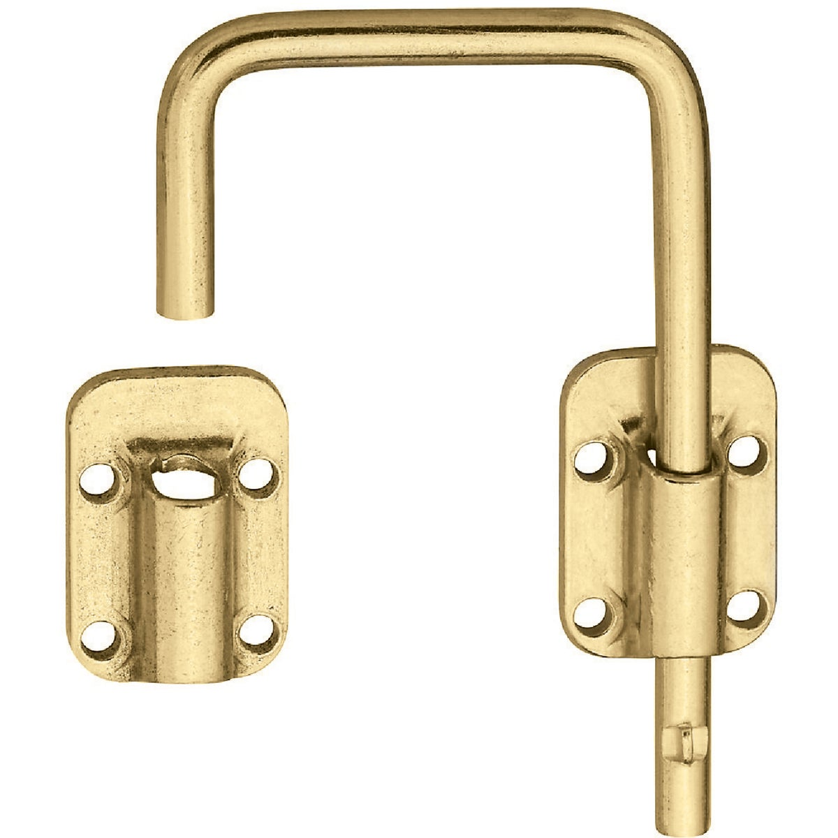 "2-1/2"" BRASS DOOR LATCH - N239004 by National Mfg Co"