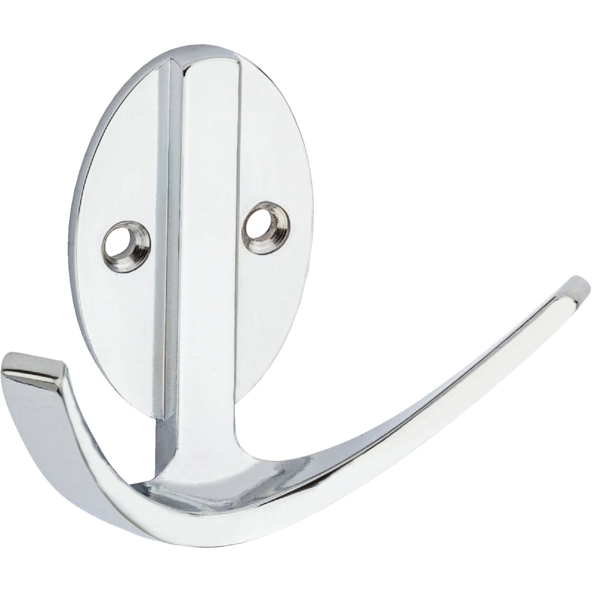 "3"" CHR DOUBLE ROBE HOOK - N807065 by National Mfg Co"