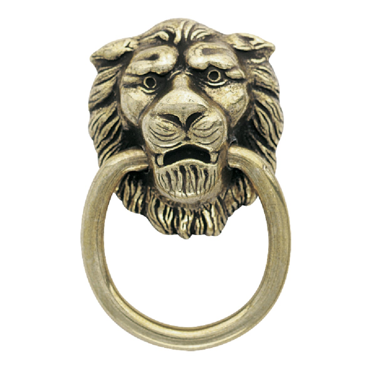 "2-1/8"" AE LION RING PULL - BP888-AE by Amerock Corporation"