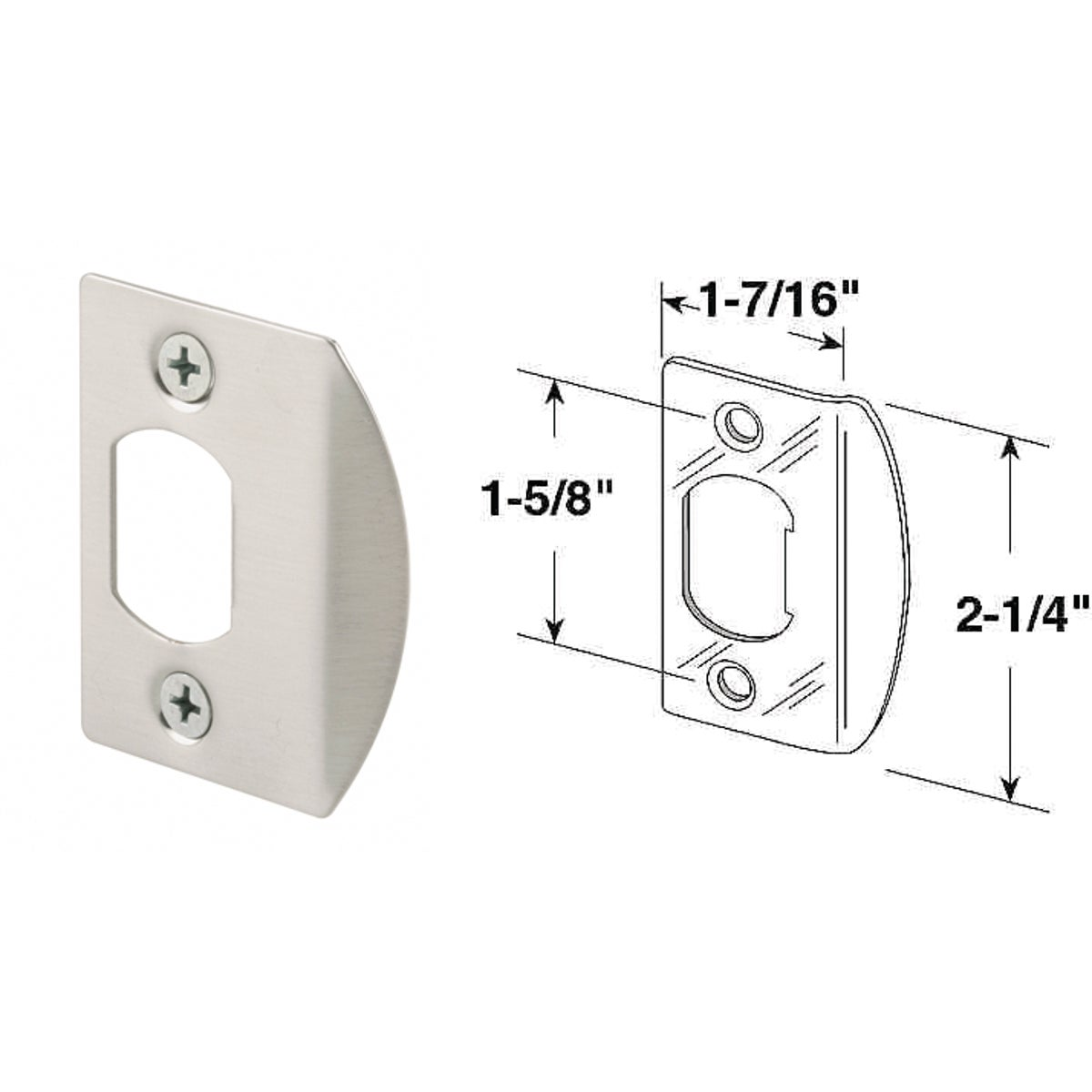 SN STRIKE PLATE - E-2457 by Prime Line Products
