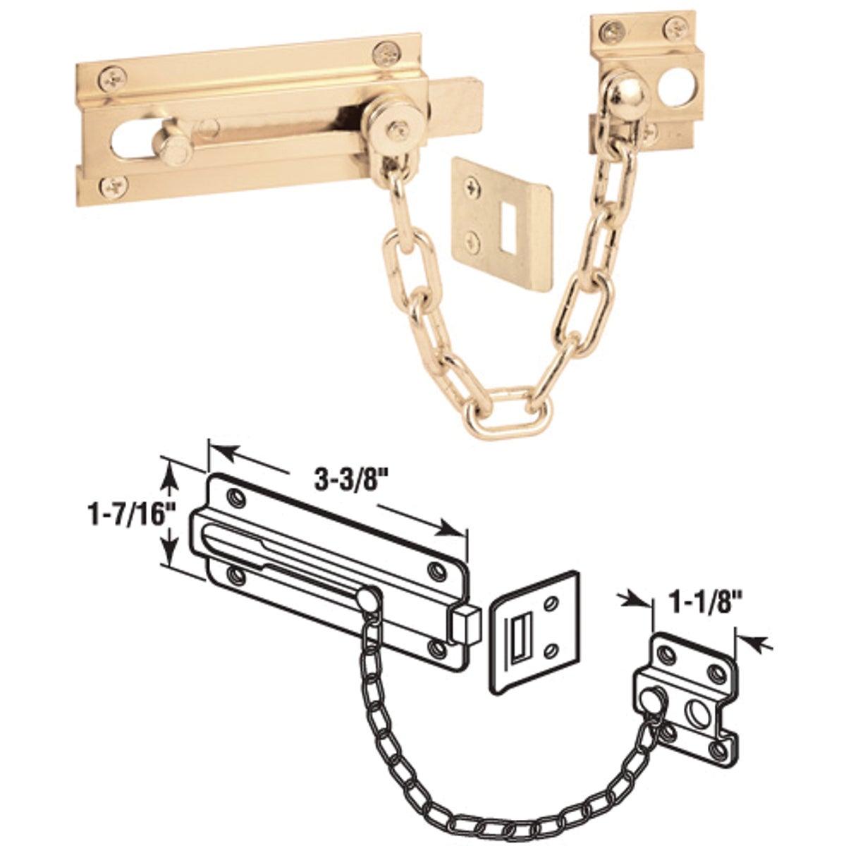 PB GUARD DOOR BOLT - U 9911 by Prime Line Products