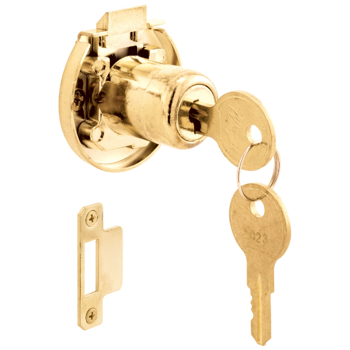 SELF-LOCKNG CABINET LOCK - U 10667 by Prime Line Products