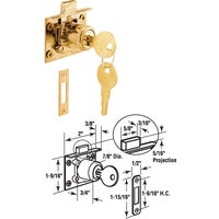 Prime Line Prod. MORTISE DOOR CAM LOCK U 10666