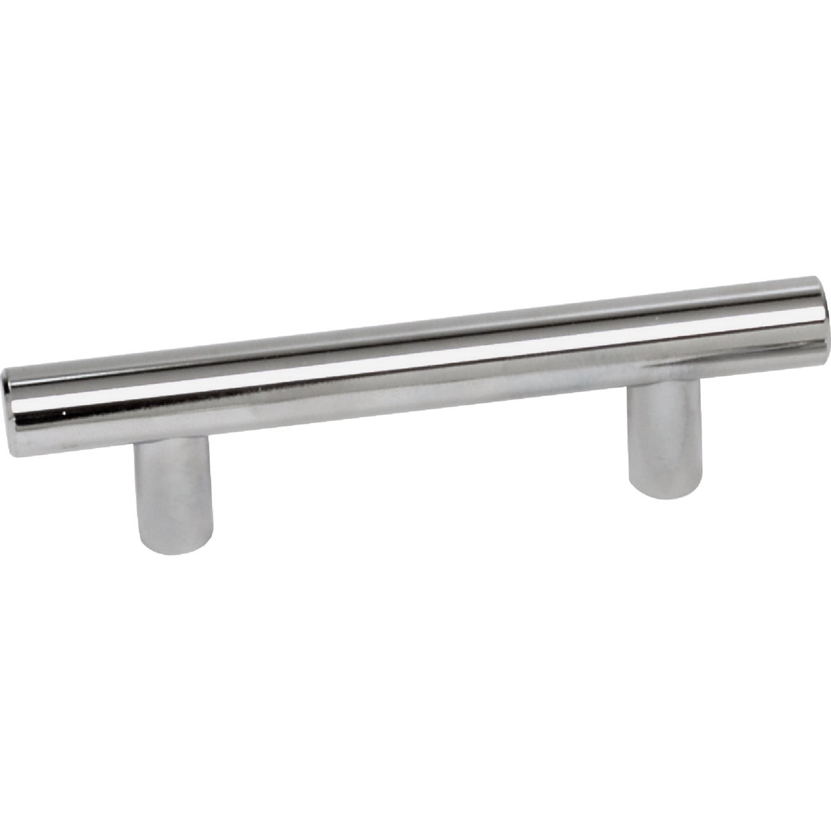 "3"" POLISHED CHROME PULL - 52926 by Laurey Co"