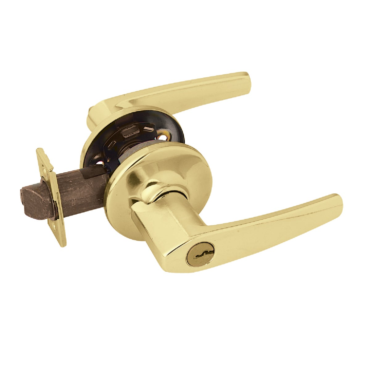 PB CP DELTA ENTRY LOCK - 405DL 3 CP K6 by Kwikset