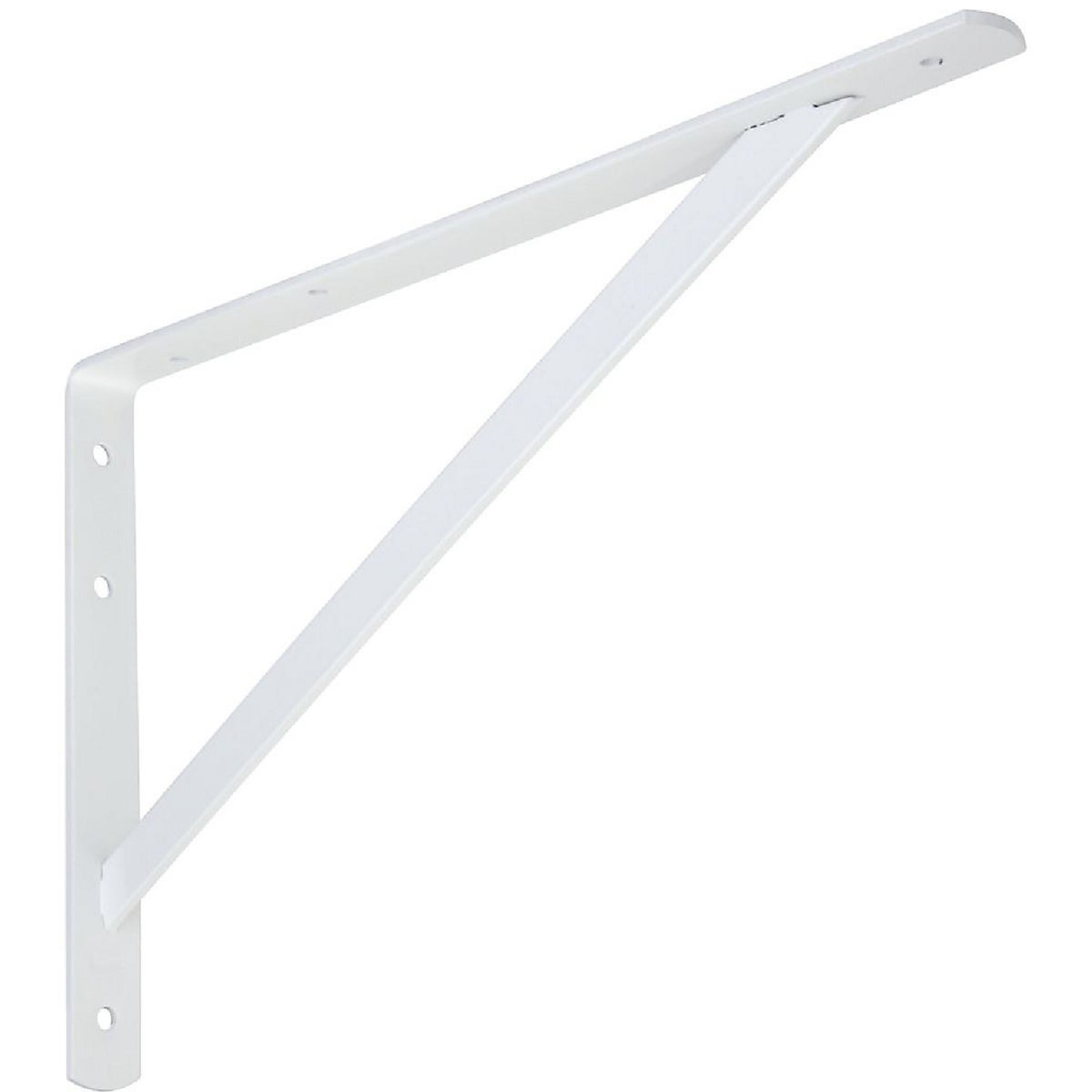 "16"" WHT HD SHELF BRACKET - N260596 by National Mfg Co"