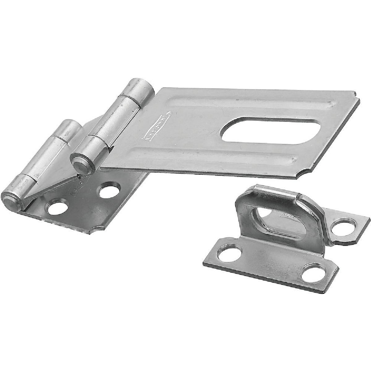 "3-1/4"" DOUBLE HINGE HASP - N103259 by National Mfg Co"