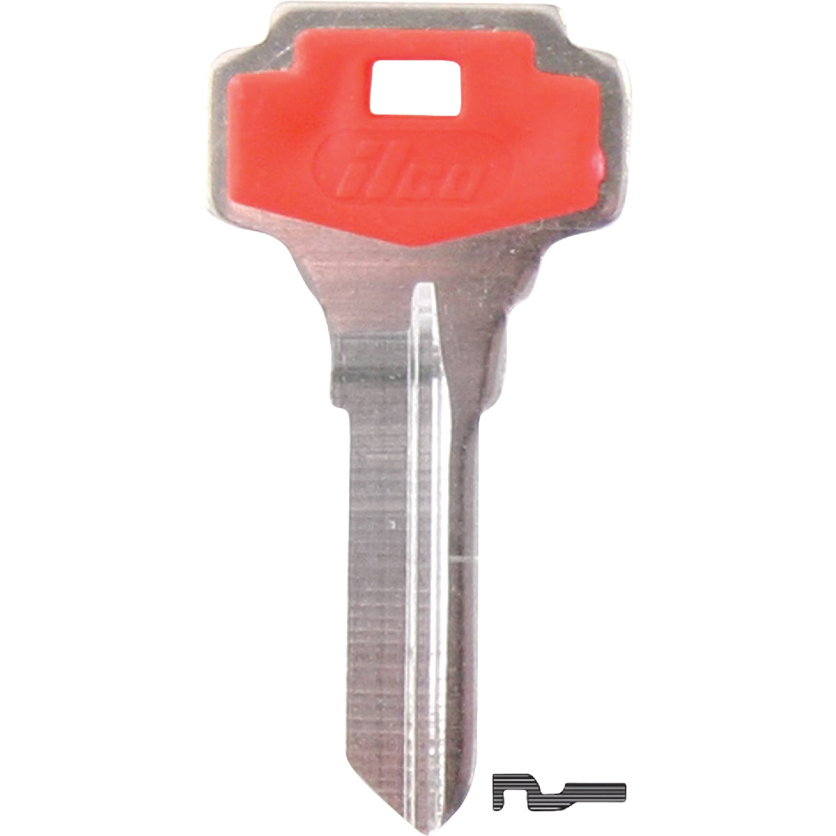 DE6P DEXTER HOUSE KEY - DE6-PC by Ilco Corp
