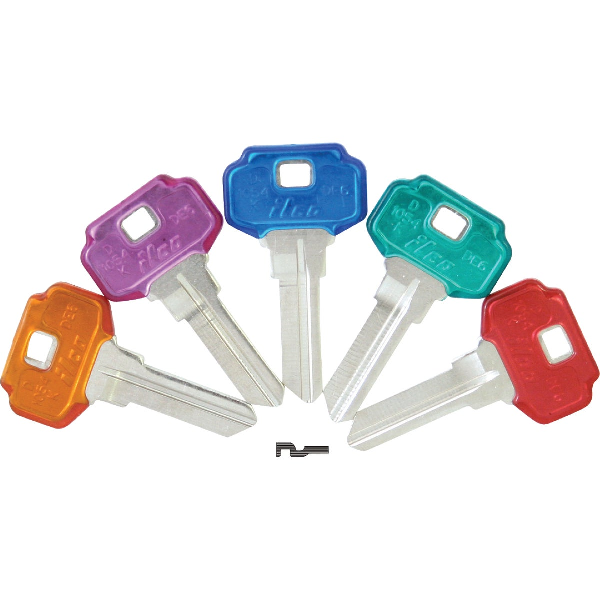 DE6PC DEXTER HOUSE KEY - DE6-PC ASST by Ilco Corp