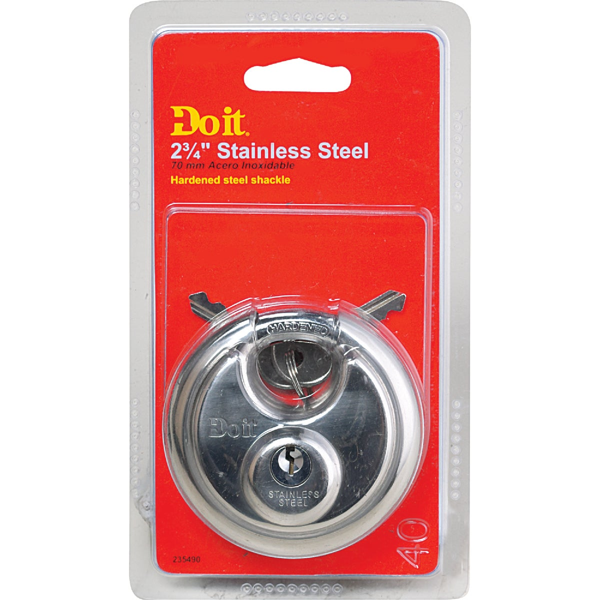 ROUND DISCUS PADLOCK - 1870DDIB by Master Lock Company