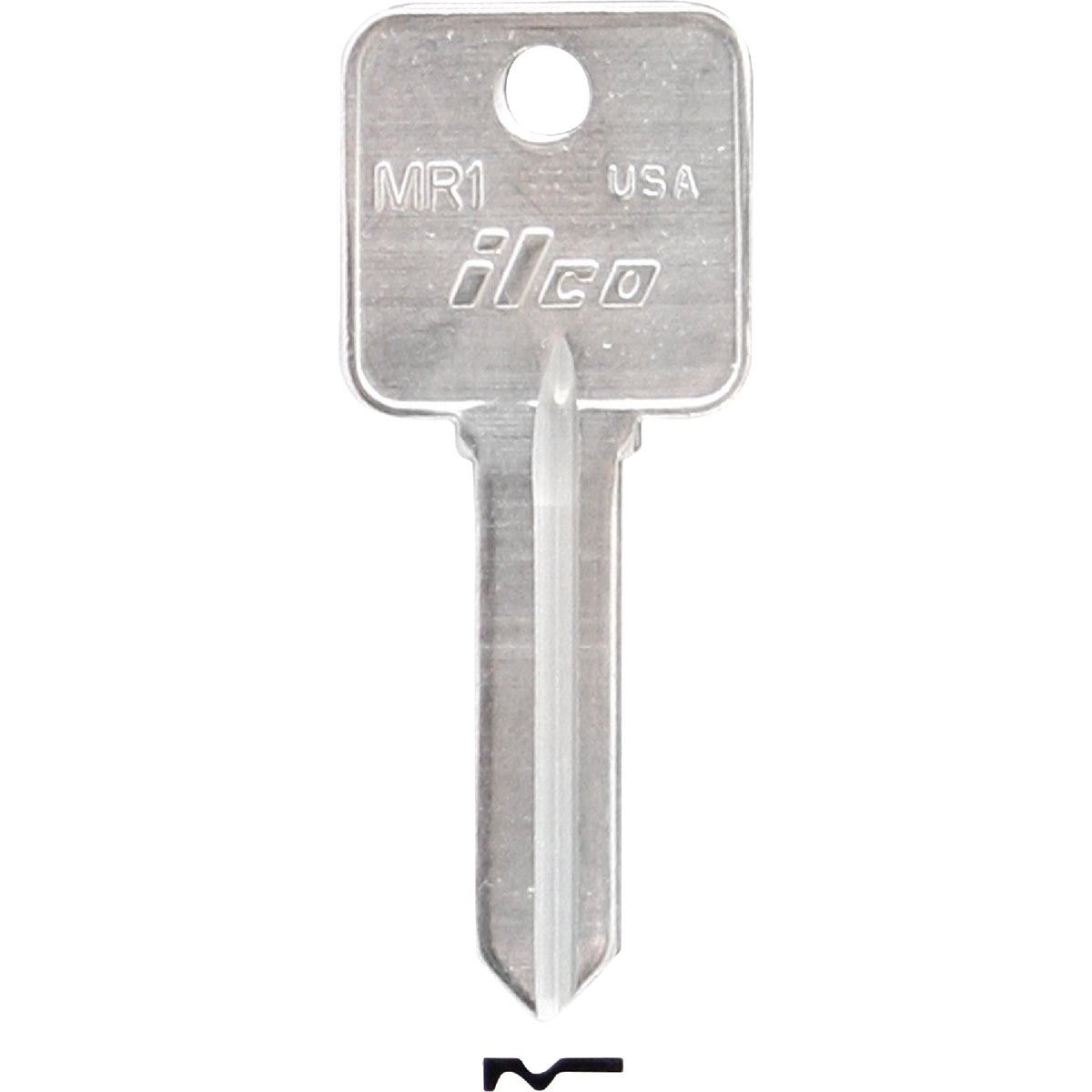 MR1 ROSSEAU CABINET KEY - MR1 by Ilco Corp