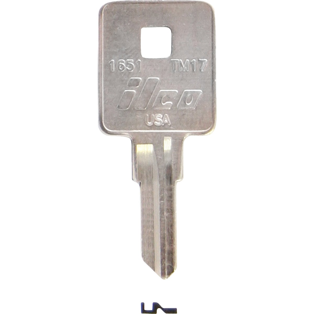 TM17 TRIMRK TRUCK BX KEY - 1651 by Ilco Corp