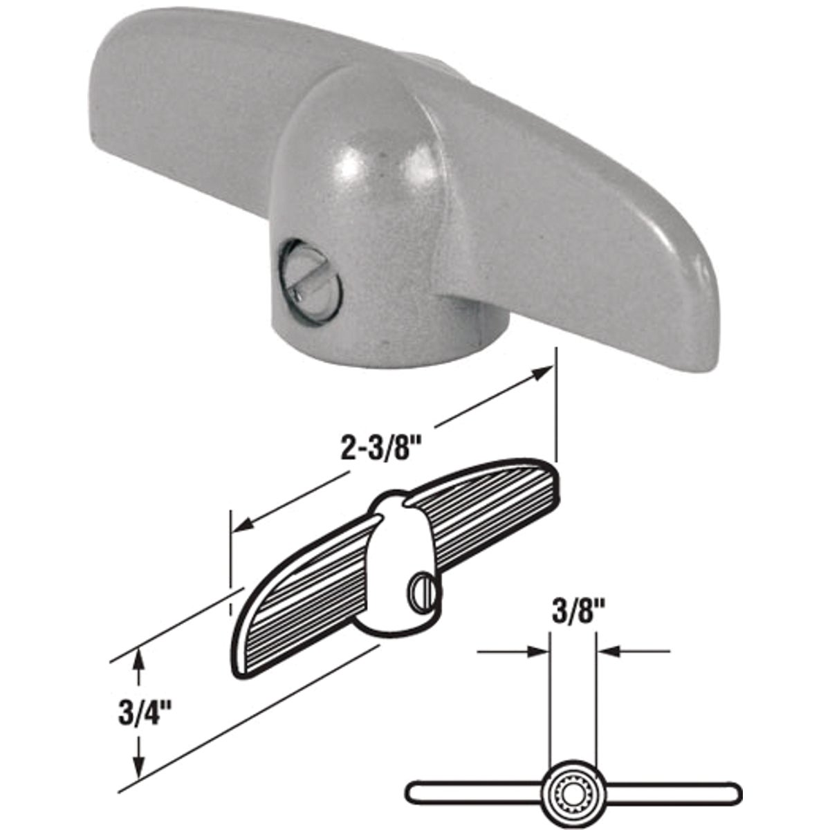 Wind Oper Crank T-Handle